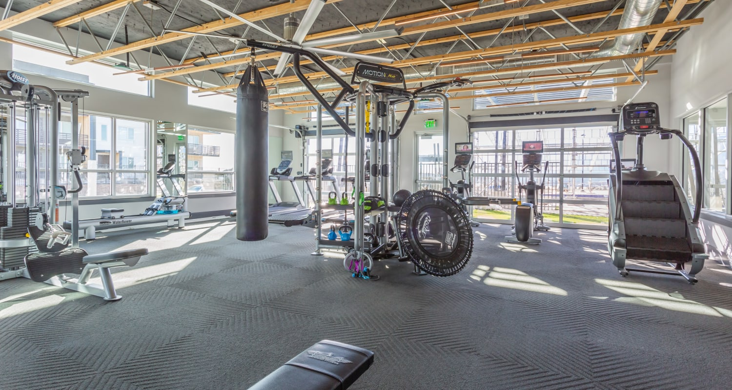 Gym at FalconView in Colorado Springs, Colorado