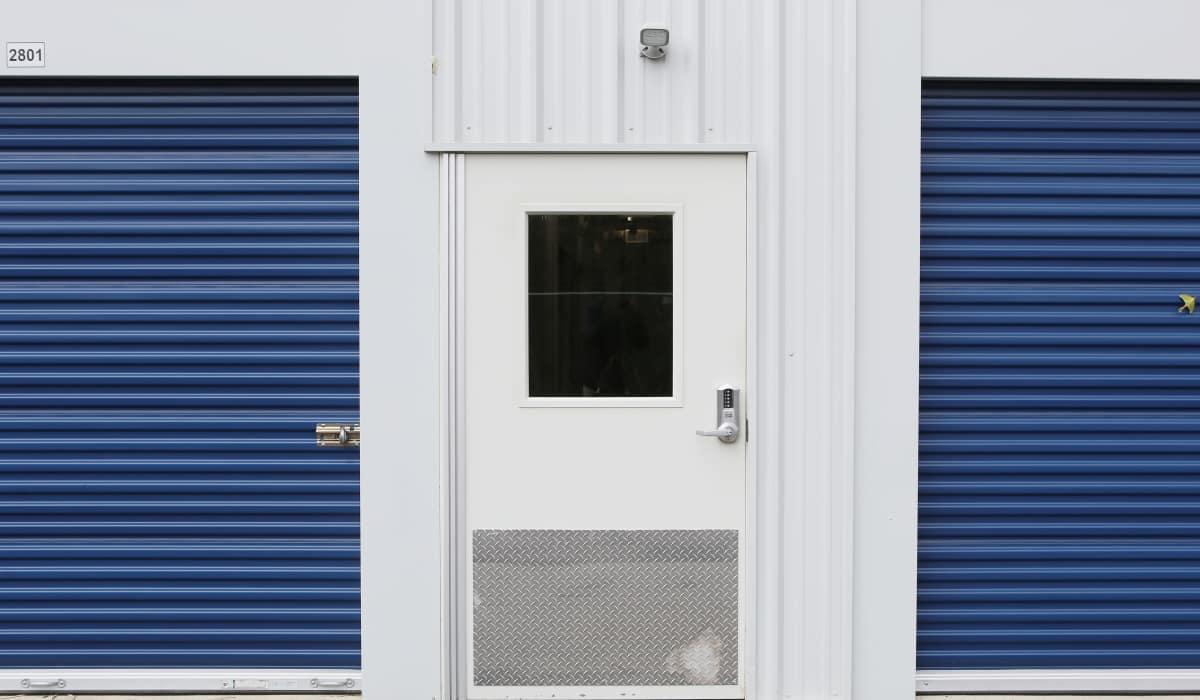 Exterior storage units at Midgard Self Storage in Lake Wylie, South Carolina
