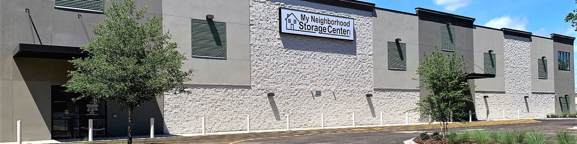 Self storage features at My Neighborhood Storage Center in Jacksonville, Florida