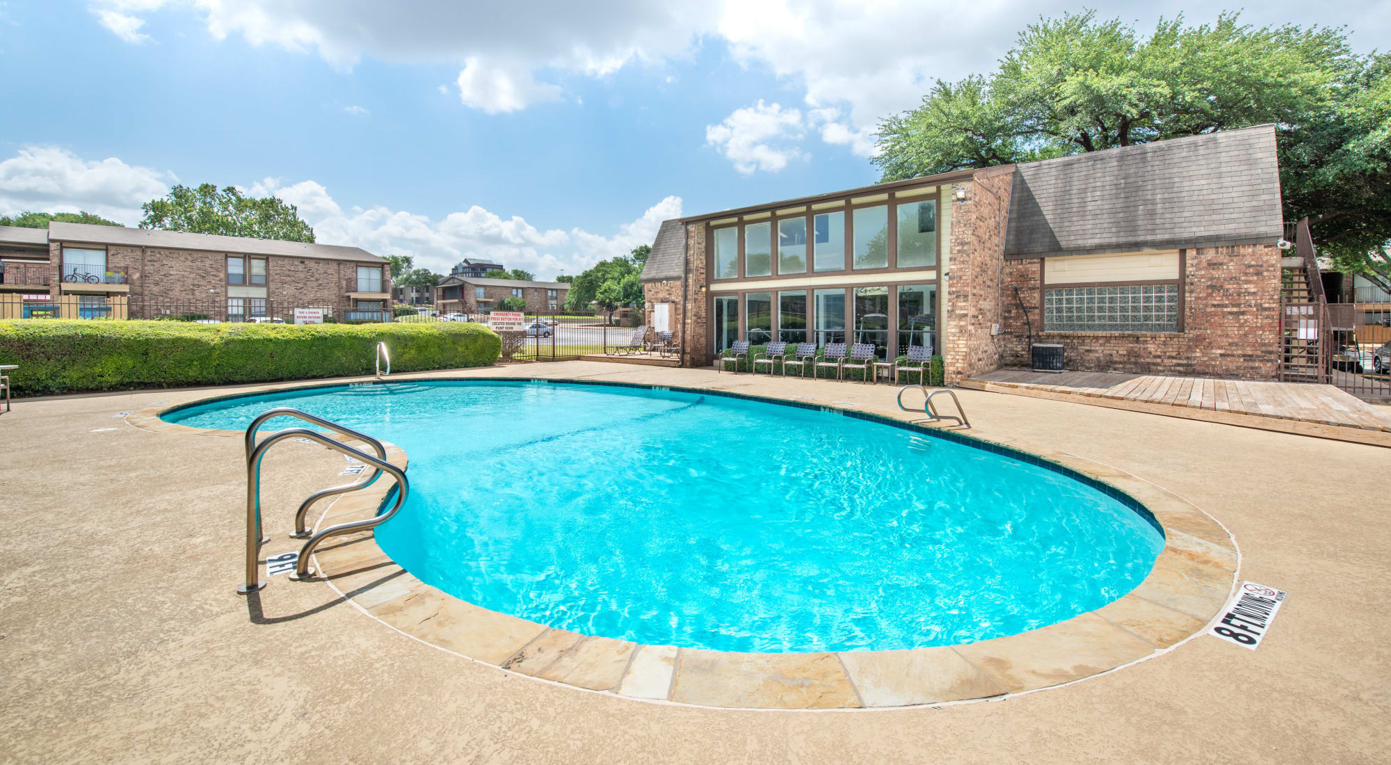 Contact us at 8500 Harwood Apartment Homes in North Richland Hills, Texas
