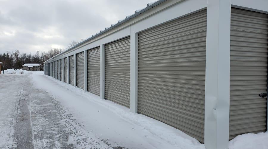 Exterior of outdoor units at KO Storage of Alexandria - East in Alexandria, Minnesota