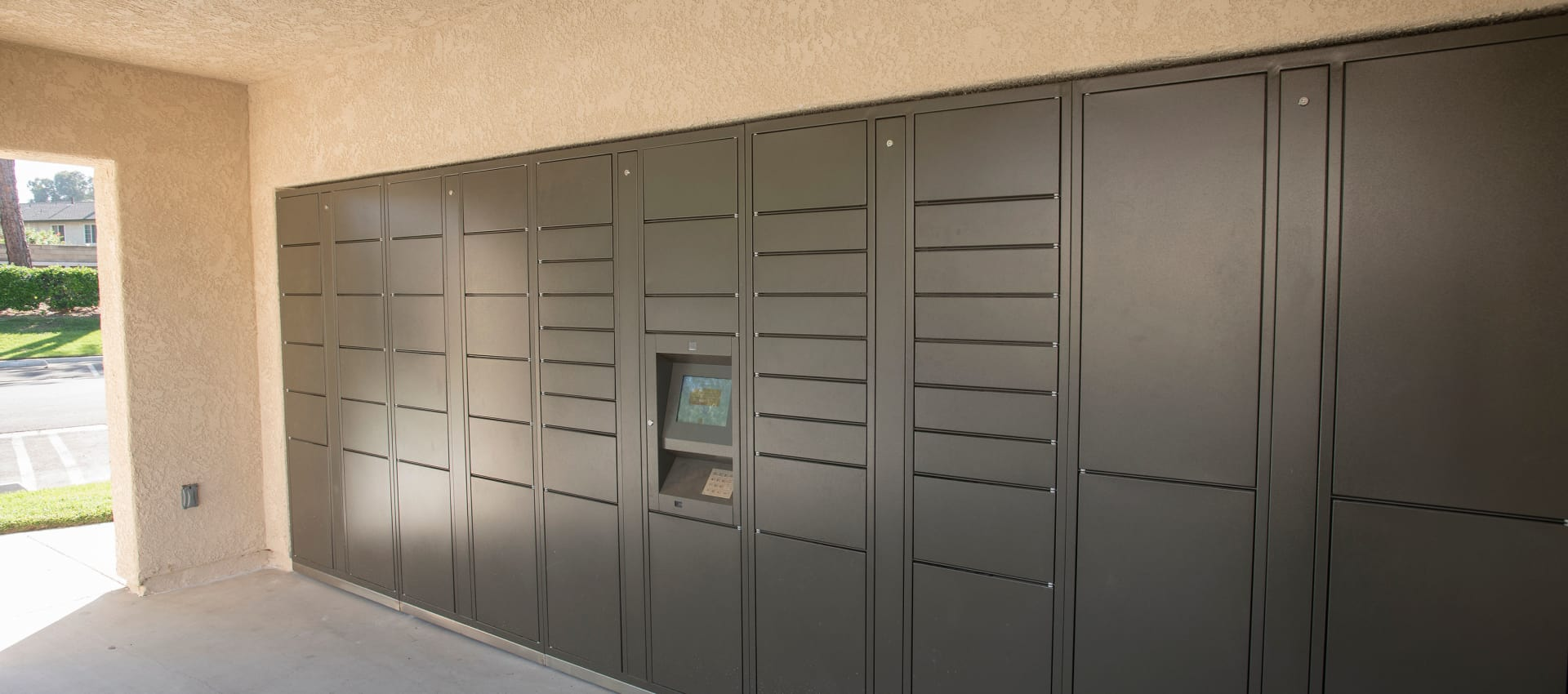 Parcel Pending Package Locker at Shadow Ridge Apartment Homes in Simi Valley