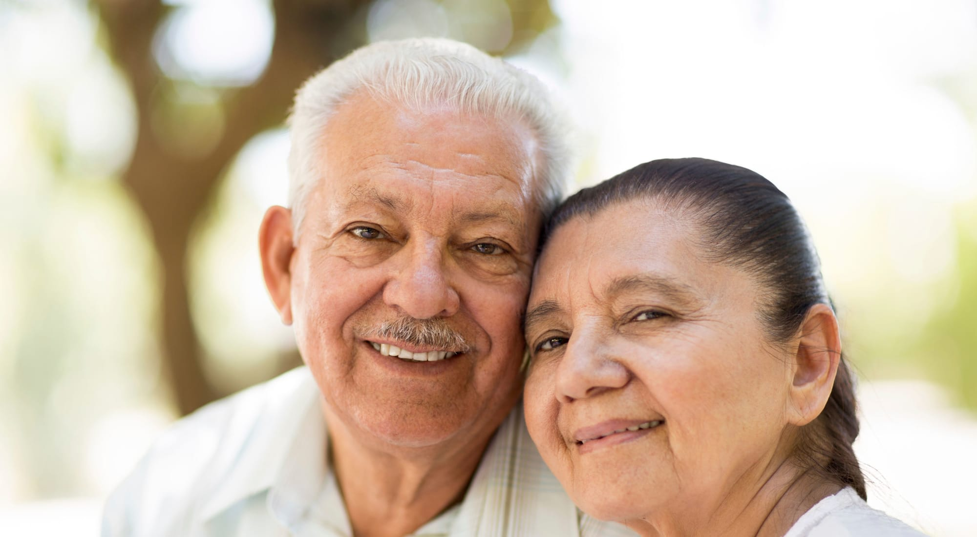 Resident couple at Wildwood Canyon Villa Assisted Living and Memory Care