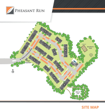 Sitemap at Pheasant Run in Michigan