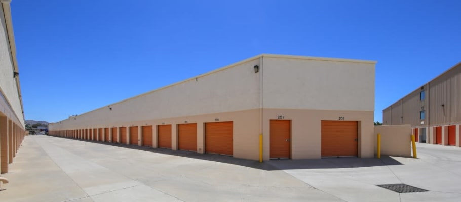 Convenient drive-up storage units at A-1 Self Storage in El Cajon, California