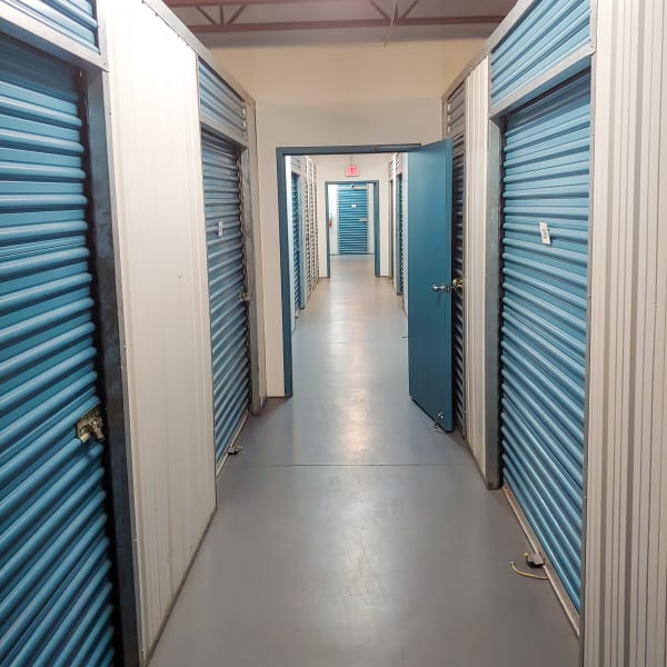 Indoor climate controlled units at StorQuest Express - Self Service Storage in Tampa, Florida