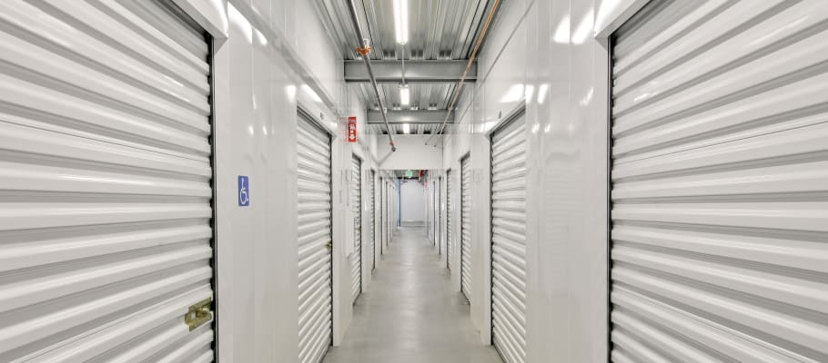 Indoor storage units in North Hollywood, California at A-1 Self Storage