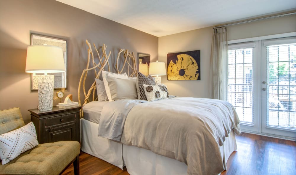 Bedroom at The Residences at Vinings Mountain in Atlanta, Georgia