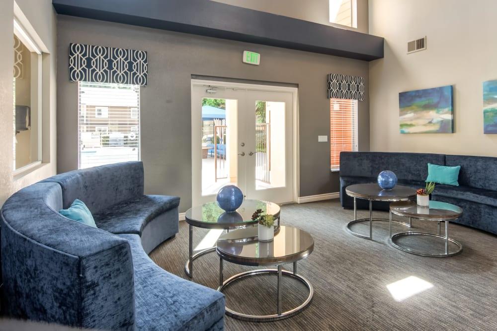 Community common area for resident use at Terra Nova Villas in Chula Vista, California