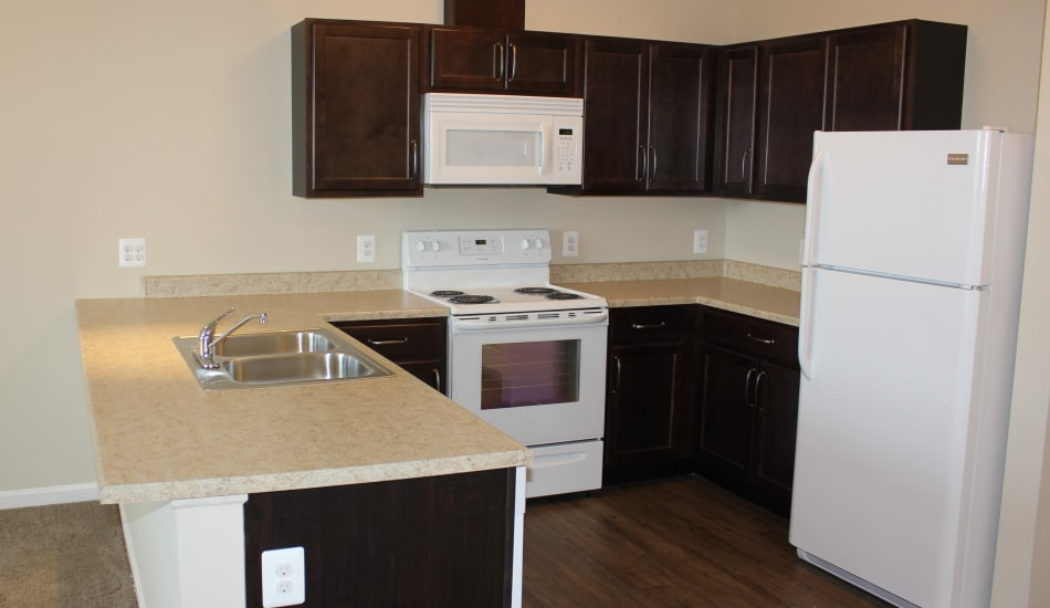 Enjoy a beautiful kitchen at Mary Harvin Center in Baltimore, MD