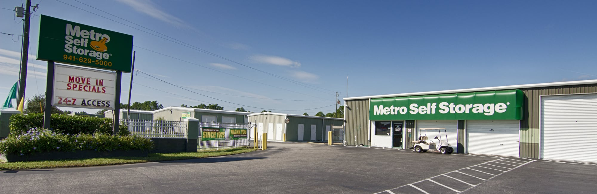 Metro Self Storage in Port Charlotte, FL