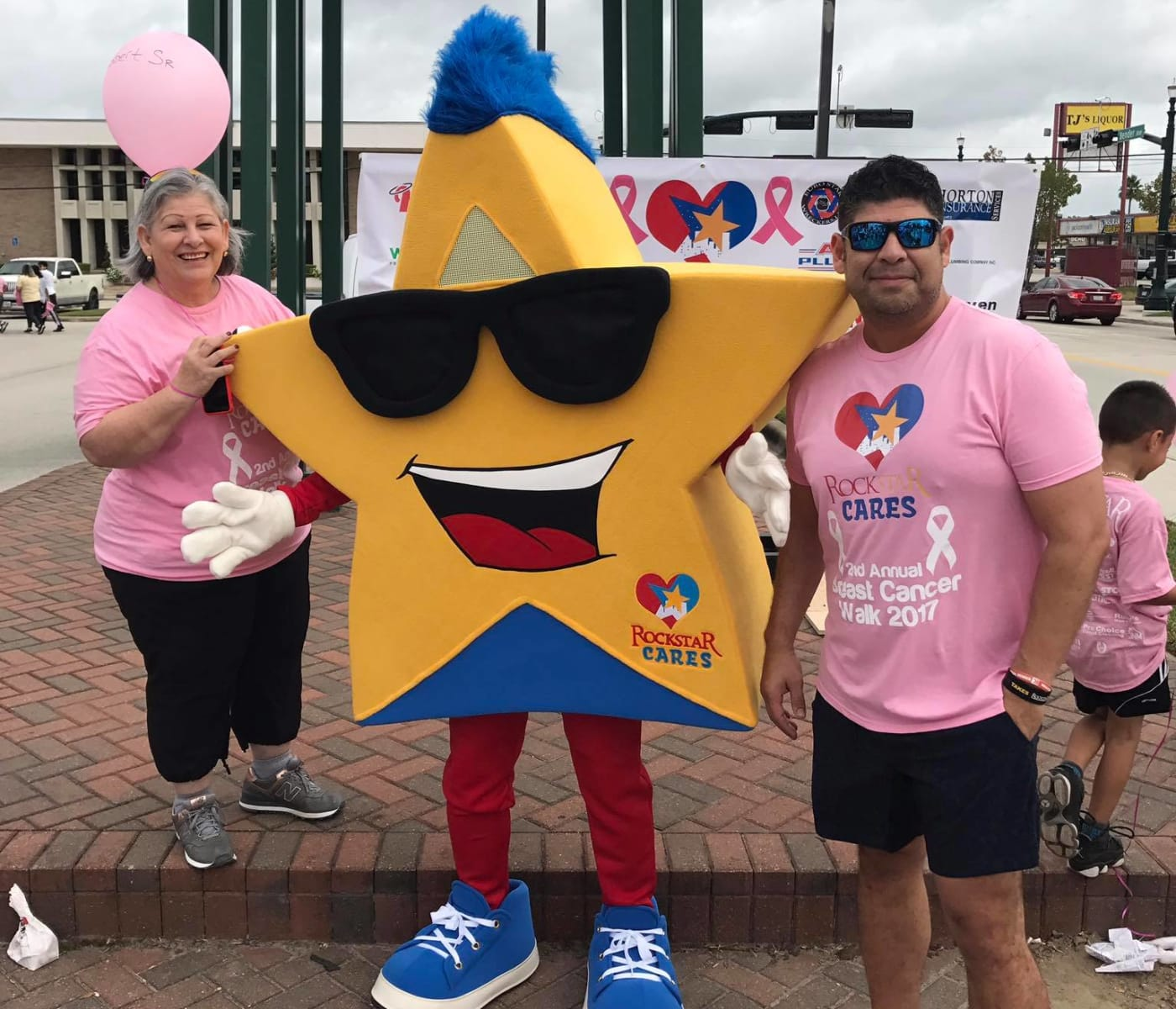 Rockstar Capital walking for breast cancer