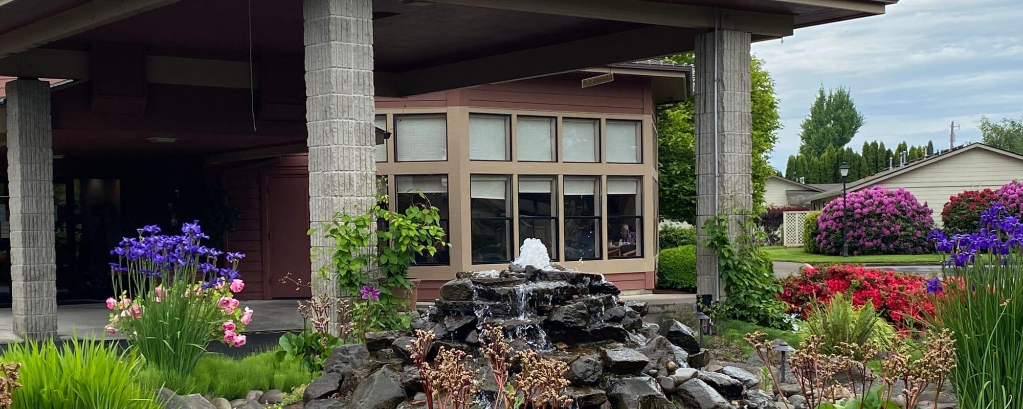 Senior living at The Springs at Lancaster Village in Salem, Oregon