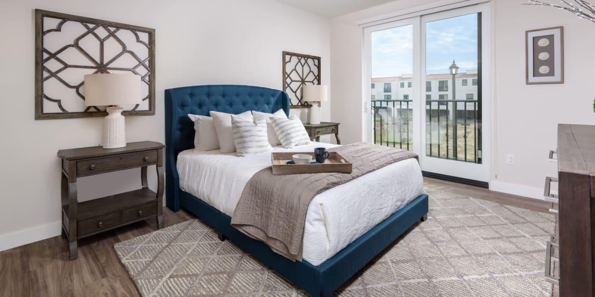 Spacious bedroom at Portside Ventura Harbor in Ventura, California