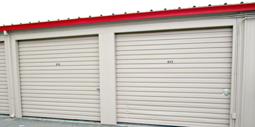 Indoor climate controlled units at StorQuest Self Storage in Modesto, California