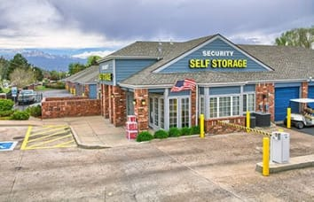 Security Self-Storage Austin Bluffs location in Atlanta, Georgia