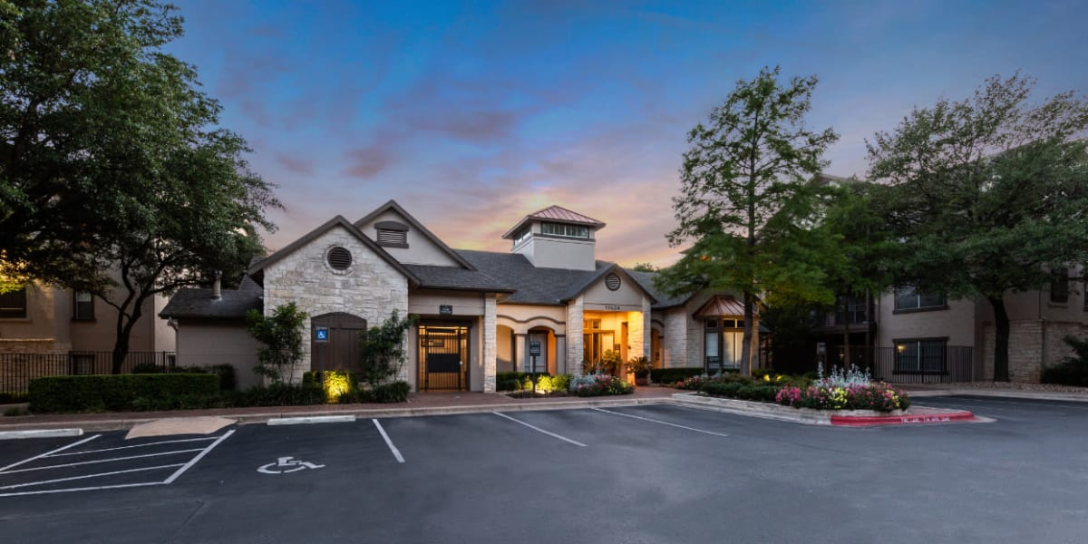 Entrance to Marquis at Ladera Vista in Austin, Texas