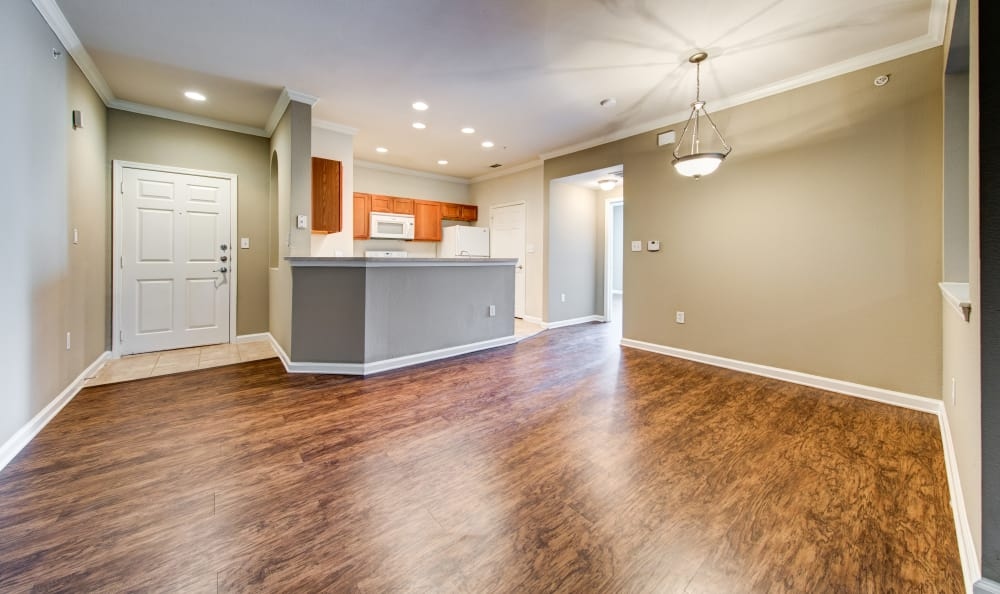 Big hardwood floors at Marquis at Stone Oak
