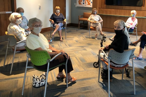 Residents During The Book Club