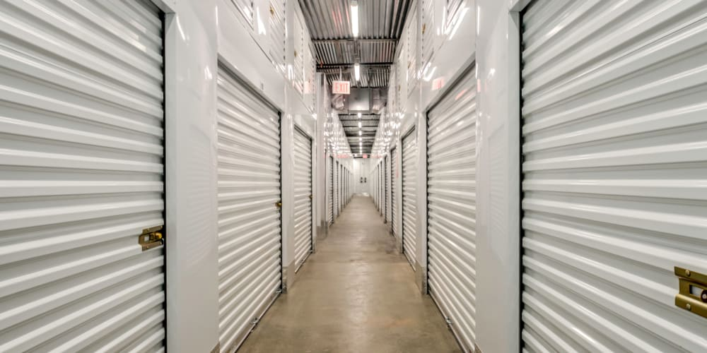 Indoor climate controlled units at StorQuest Self Storage in Brooklyn, New York