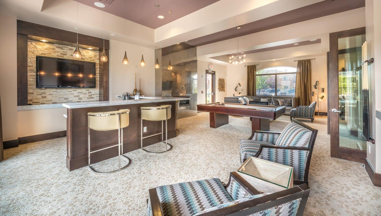 Olympus Encantada resident lounge in Albuquerque, New Mexico