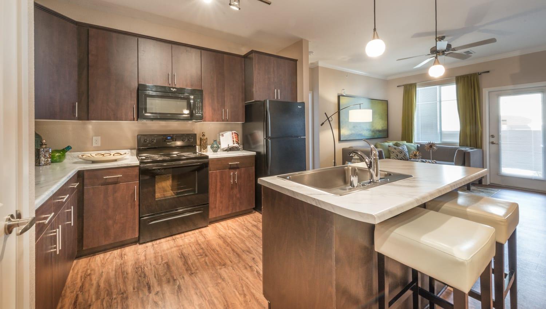 High-end kitchen at Olympus Encantada in Albuquerque, New Mexico