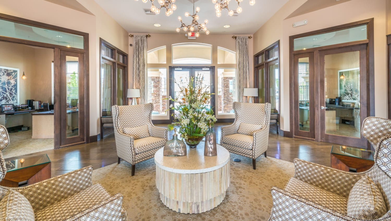 High end clubhouse at Olympus Encantada in Albuquerque, New Mexico