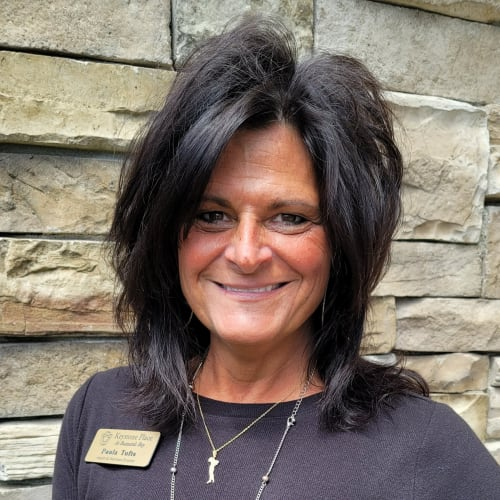 Paula Tufts,  Health and Wellness Director of Keystone Place at  Buzzards Bay in Buzzards Bay, Massachusetts