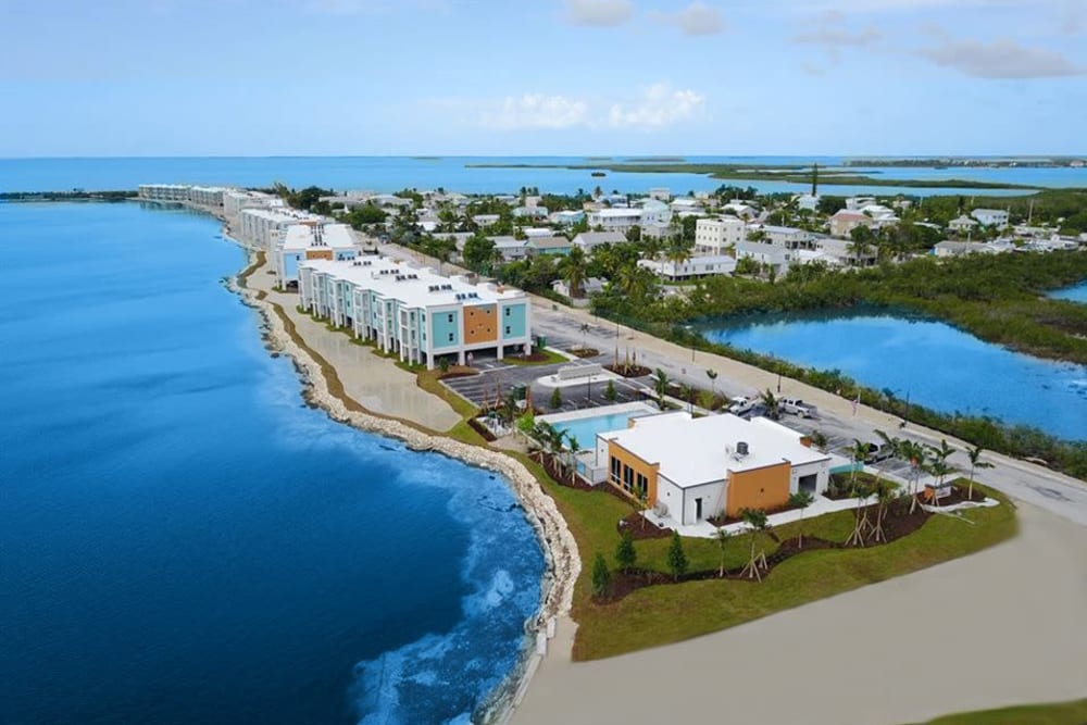 Beachfront property managed by  WRH Realty Services, Inc