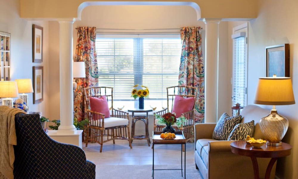 Floor plans with large windows at Keystone Place at Terra Bella in Land O' Lakes, Florida.