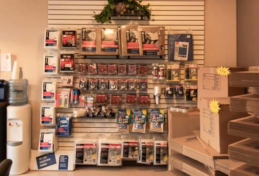 Merchandise at ABC Mini Storage in Pacific, WA
