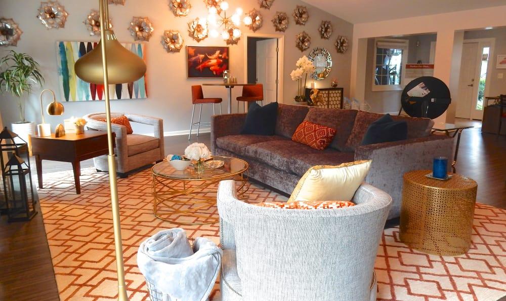 Large spacious living room in Fredericksburg, VA