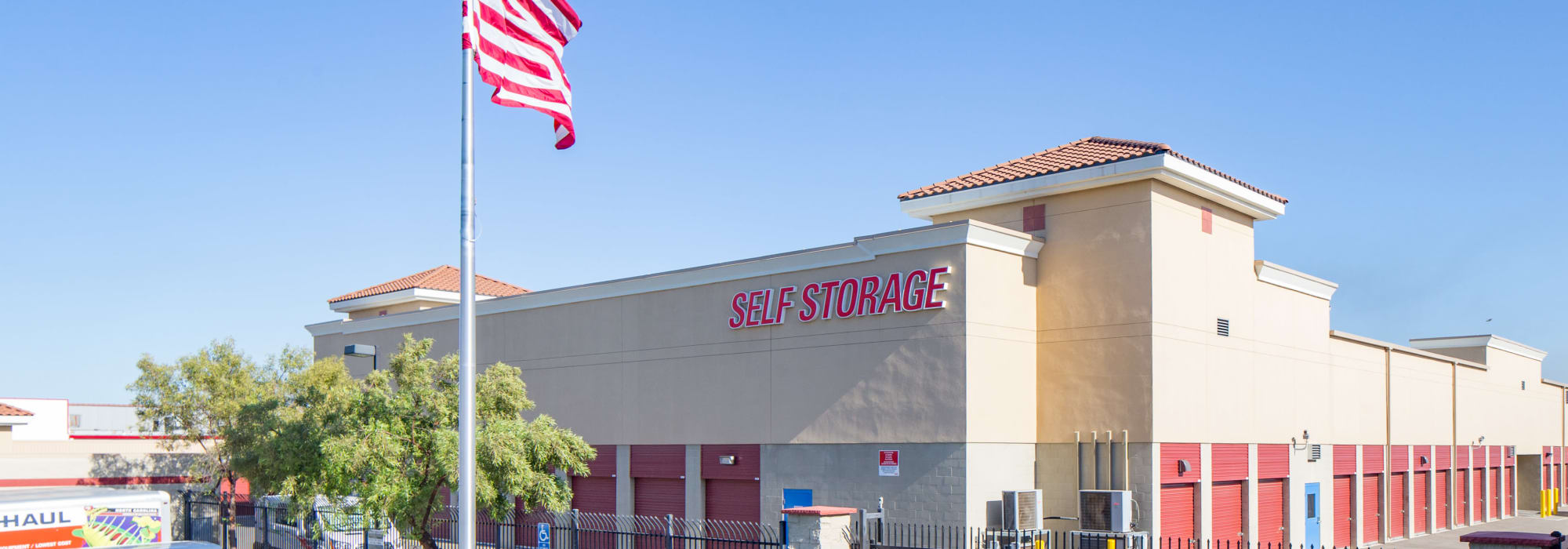 Self storage at Trojan Storage in Roseville California