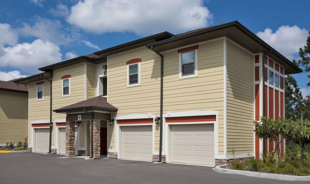 Apartment garages at Sands Parc