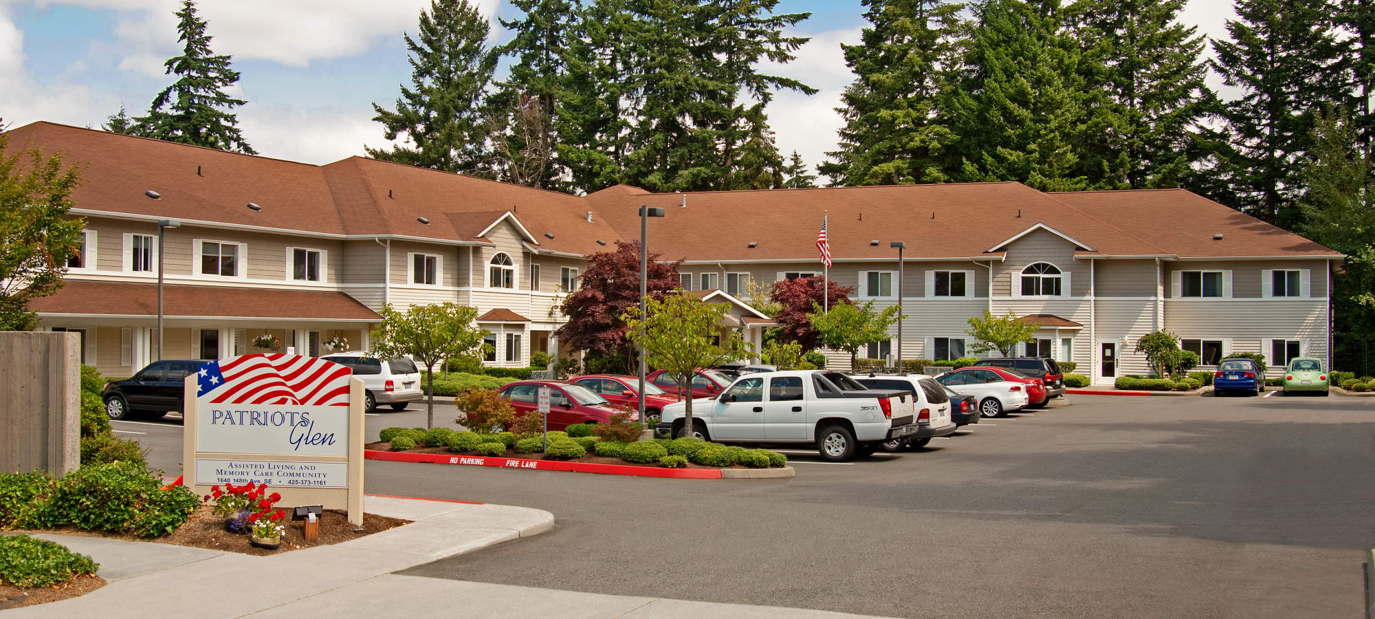 Patriots Glen offers senior living in Bellevue, Washington.