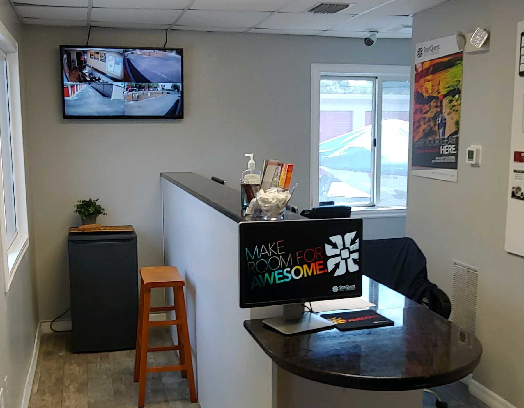 Leasing office at StorQuest Self Storage in Odessa, FL