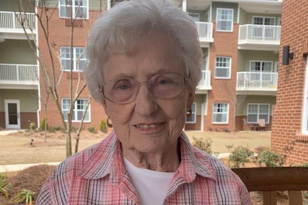 Resident at Linwood Estates Gracious Retirement Living in Lawrenceville, Georgia resident testimonial