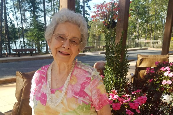 Betty Moore at Williams Place Gracious Retirement Living in Davidson, North Carolina