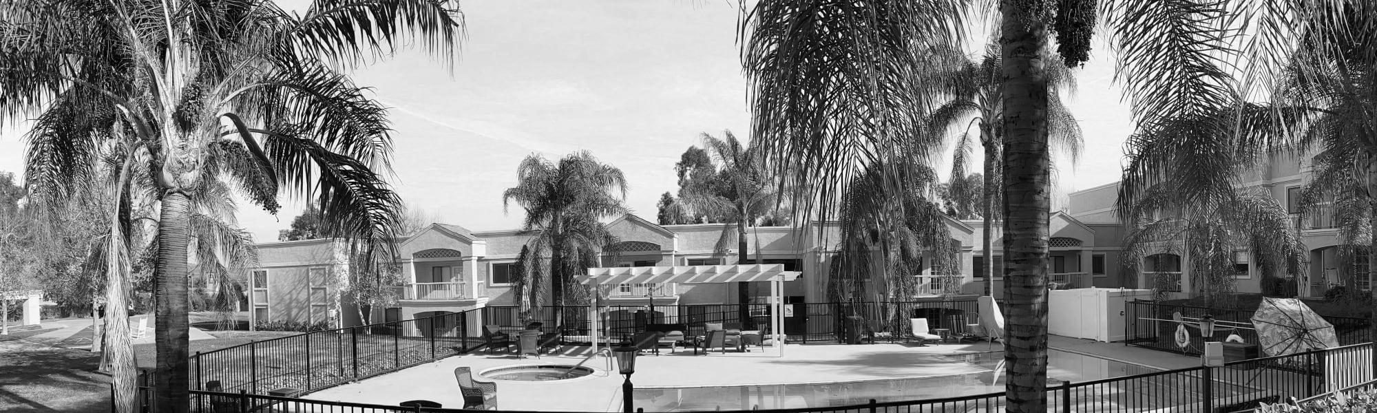 Floor plans at Pacifica Senior Living Menifee in Sun City, California.