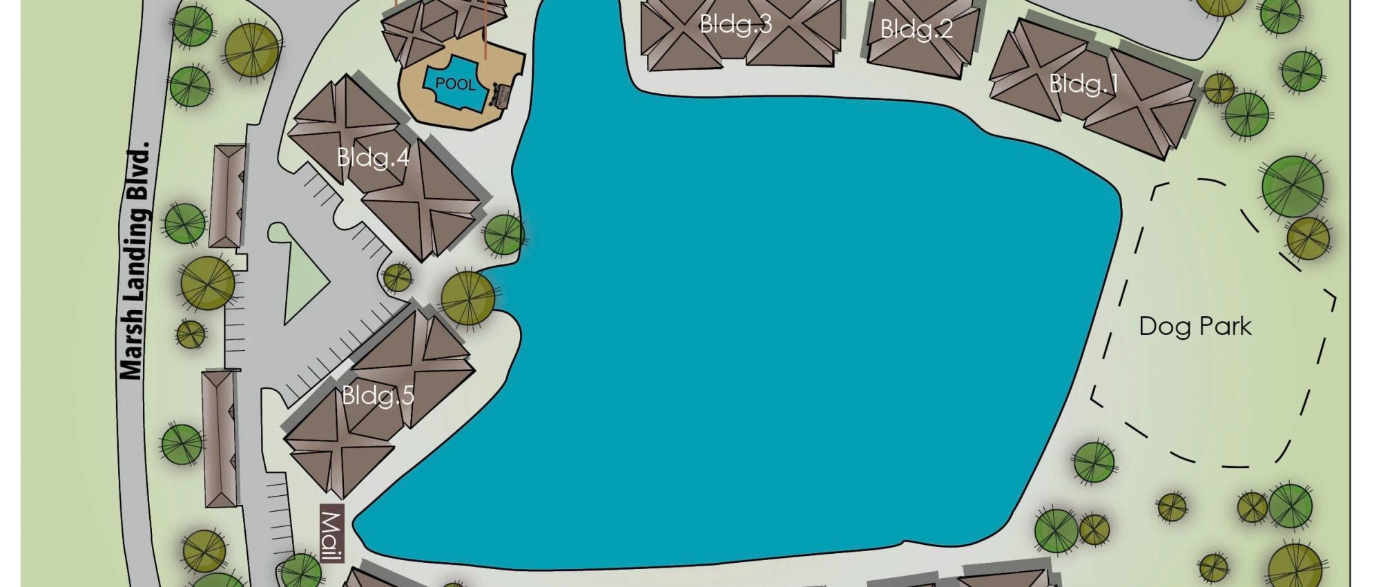 Ocean Park of Ponte Vedra site plan