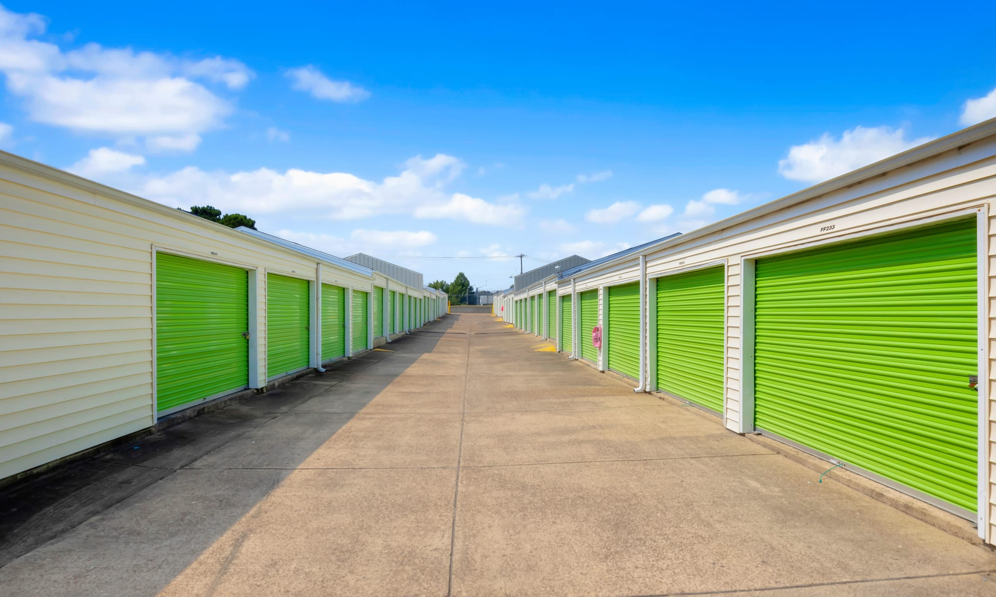Self storage at Citizen Storage in Memphis, Tennessee