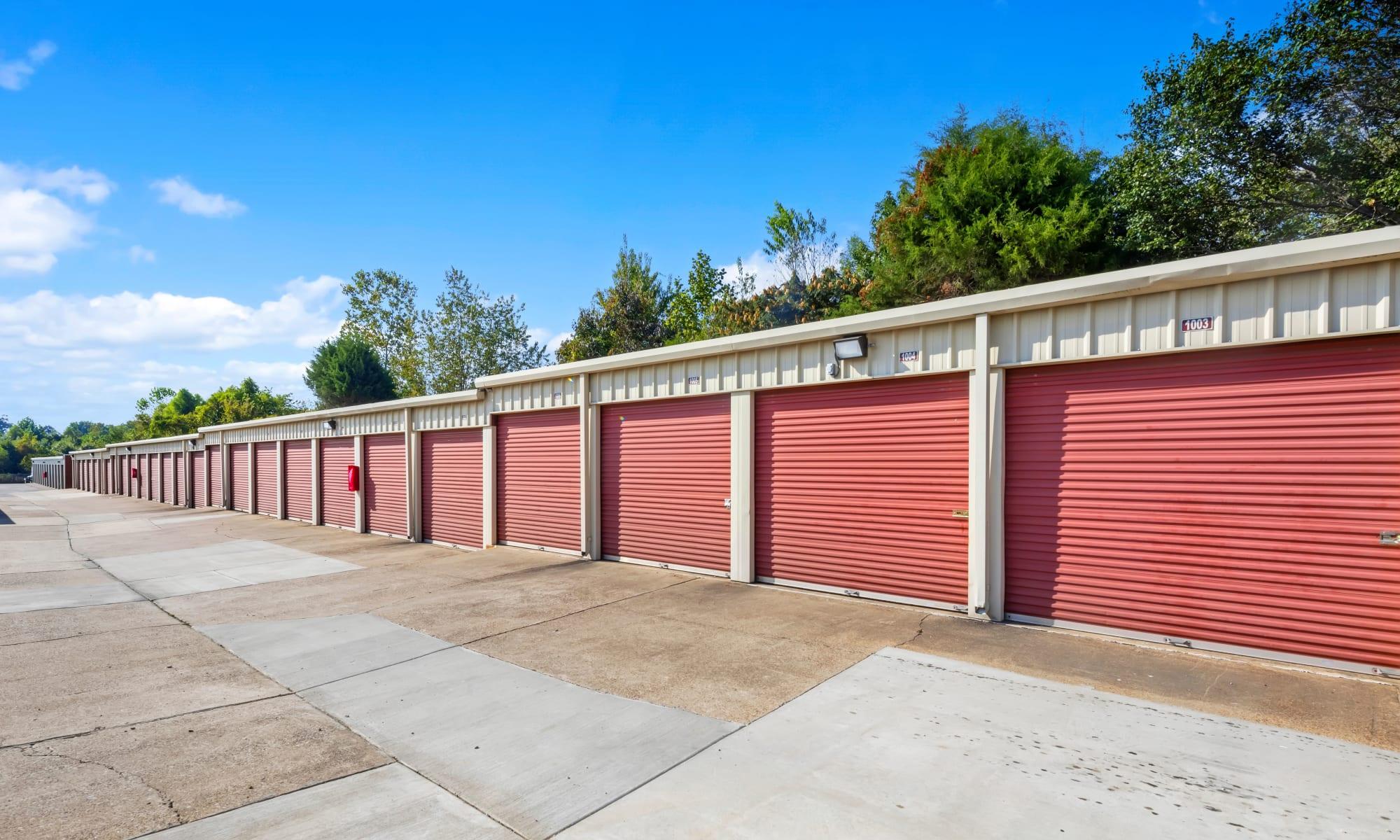 Self storage at Citizen Storage in Olive Branch, Mississippi