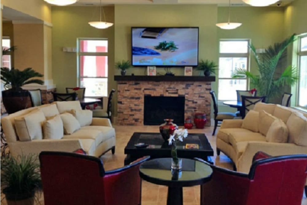Resident clubhouse at Sonoma Palms in Las Cruces, New Mexico