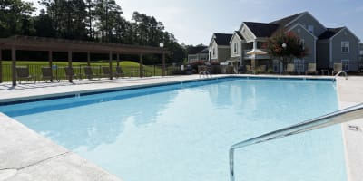 Swimming pool at apartments in Aberdeen, North Carolina