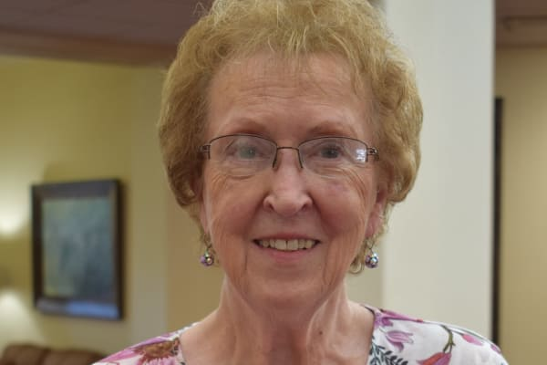 Shirley Vessels at The Oaks Gracious Retirement Living in Georgetown, Texas