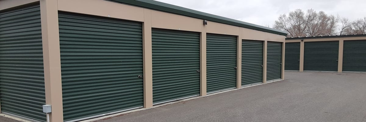 Unit sizes and prices at KO Storage of Billings - North in Billings, Montana