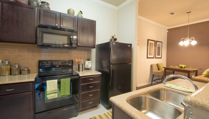 Our apartments in McKinney, Texas offer a bathroom