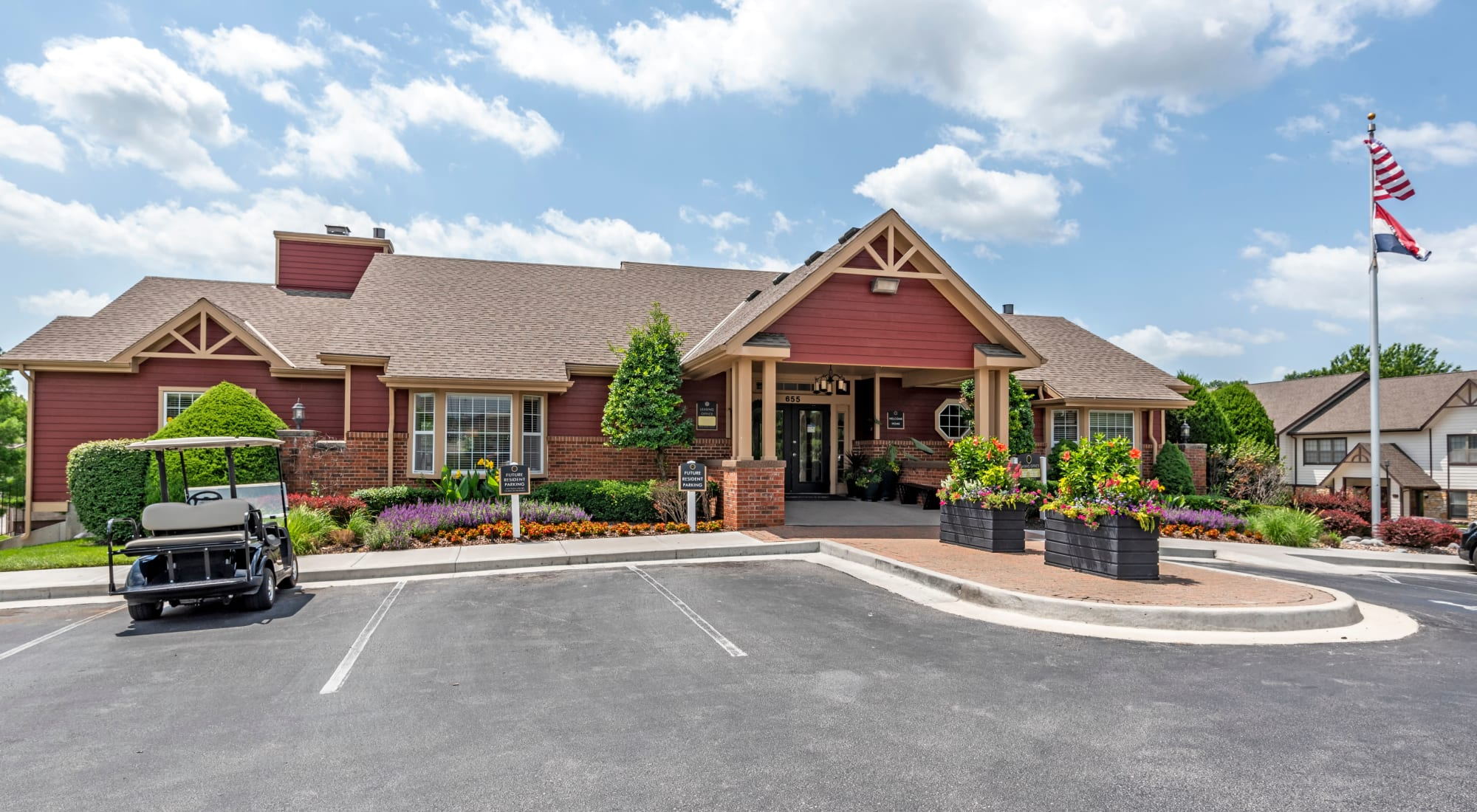 Contact us at Coach House Apartments in Kansas City, Missouri