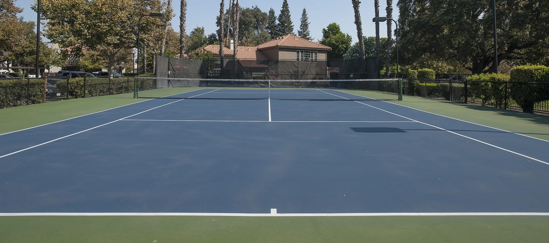 Tennis at Shore Park at Riverlake in Sacramento, California