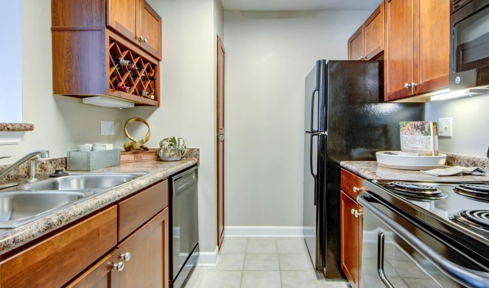 Kitchen at The Residences at Vinings Mountain in Atlanta, Georgia